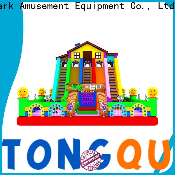 Tongtoy OEM kids inflatable slide reputable manufacturer for indoor
