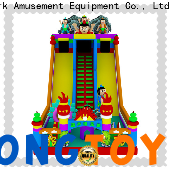 Tongtoy Latest bounce house slide combo reputable manufacturer for outdoor