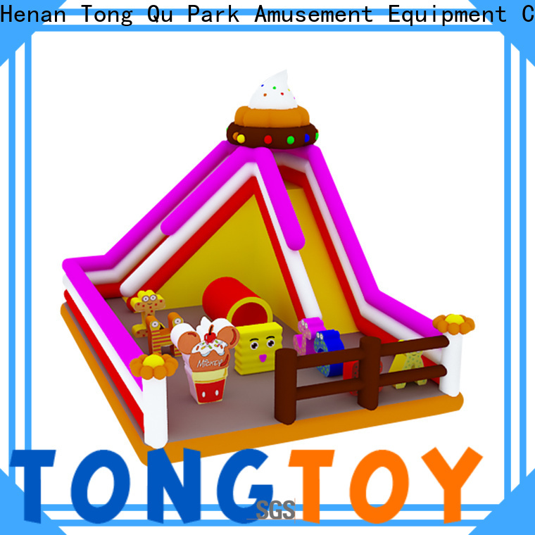 Tongtoy Bulk buy OEM inflatable toddler slide from China for outdoor