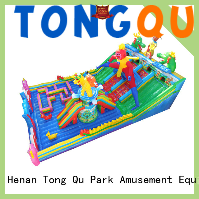 Tongtoy water-proof water bounce house wholesale for kids