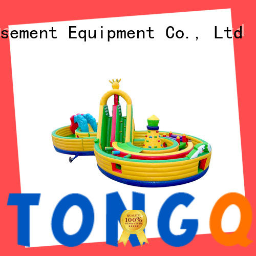 Tongtoy inflatable slide reputable manufacturer for outdoor