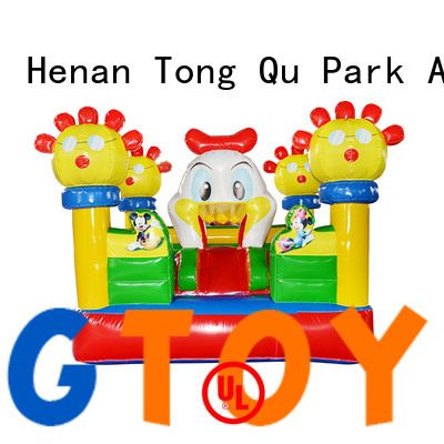 Tongtoy colorful inflatable bouncer inquire now for adult