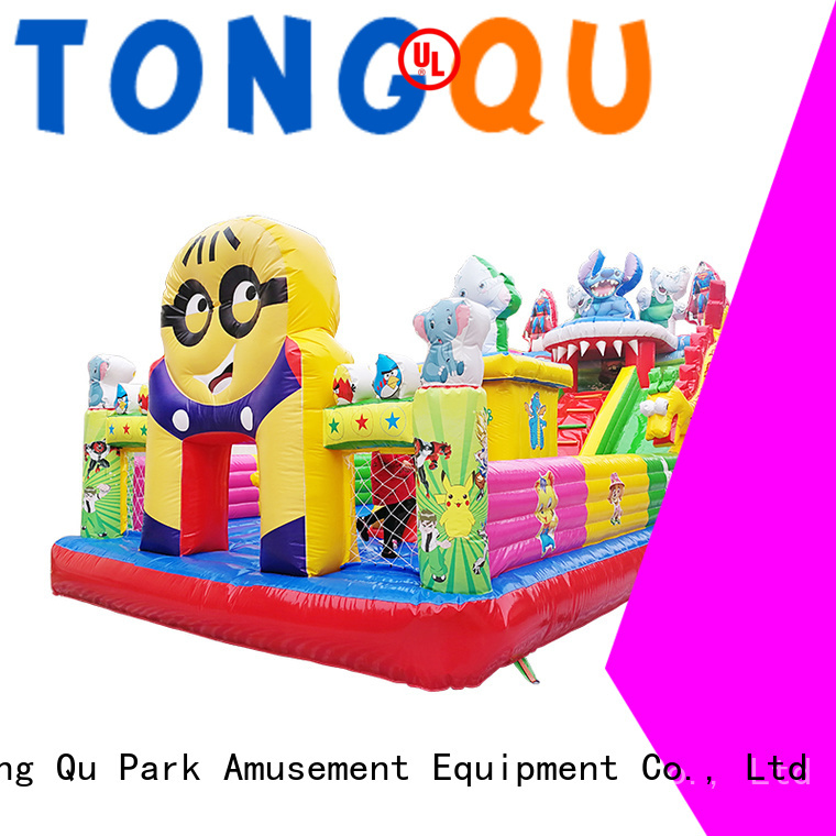 Tongtoy Heat resistant water bounce house inquire now for adult