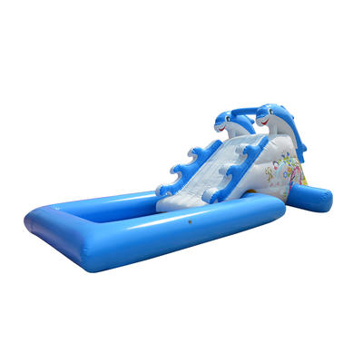 dolphin inflatable water slides jumping castles