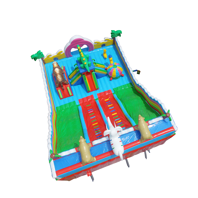 factory price kids jumping inflatable bounce castles slide jumpers