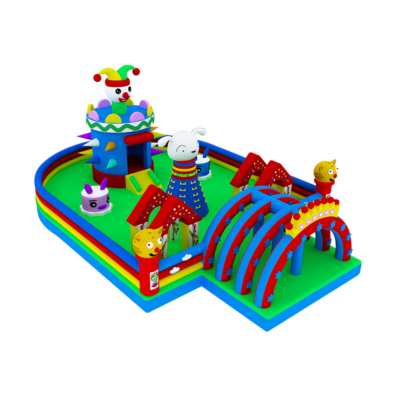 customized large inflatable bouncy jumper jumping bounce house for kids