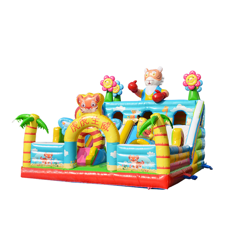 2019 new design inflatable bouncer house trampoline/ inflatable bouncy castle