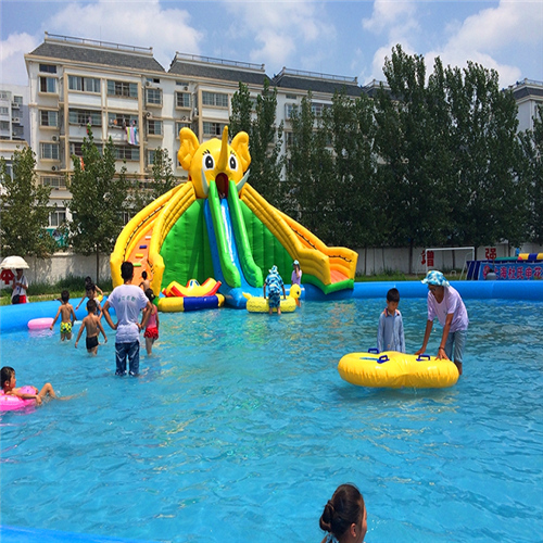 commercial inflatable water slide for kids and adults