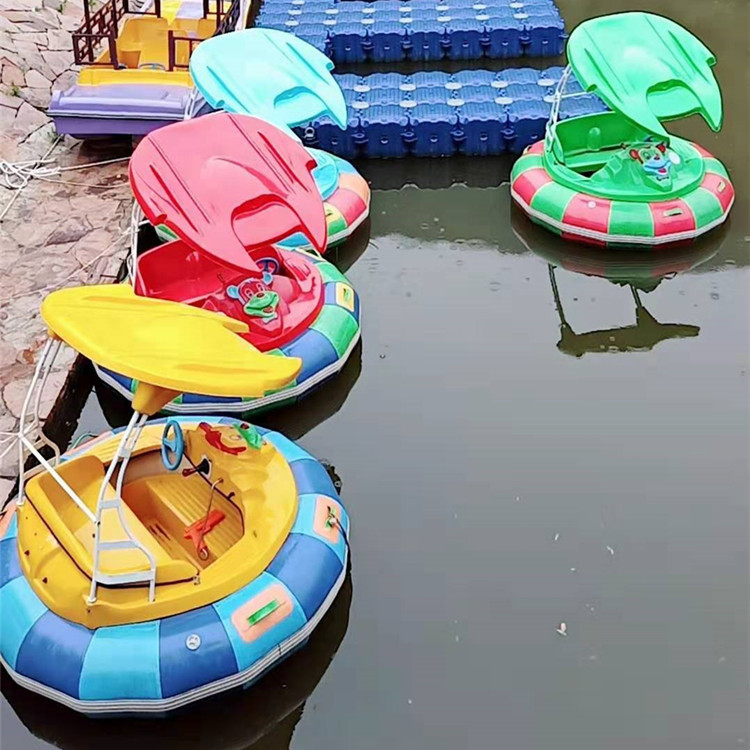 New style waterborne electric laser water bumper boat for sale / bumper water boat wholesale