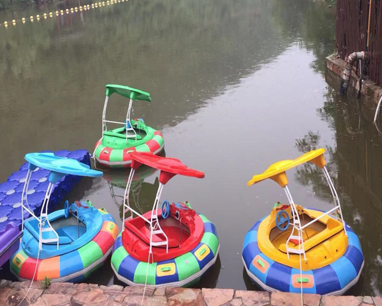 Popular water fun electric laser bumper boat for sale / bumper water boat wholesale