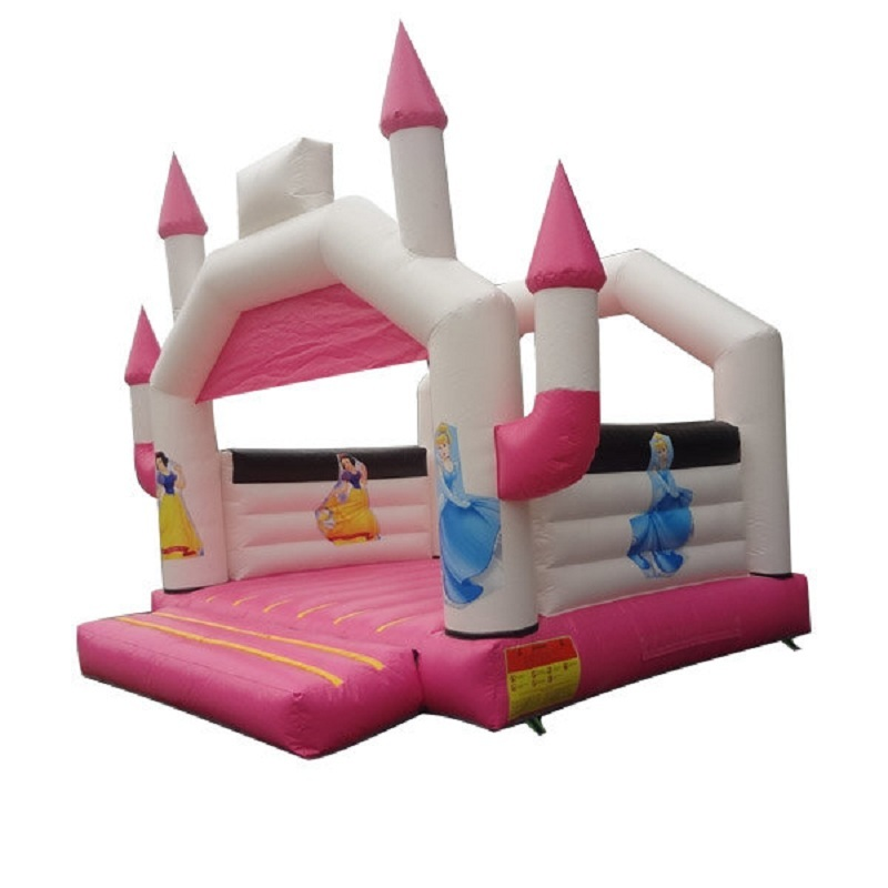 Pink party rental kid air inflatable jumper bouncer house for girls