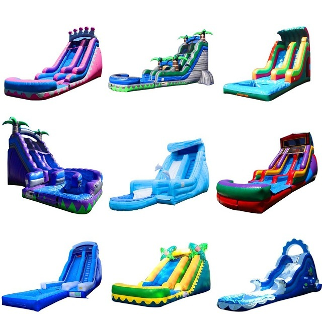 pvc inflatable dry slide High Quality Supplier In China