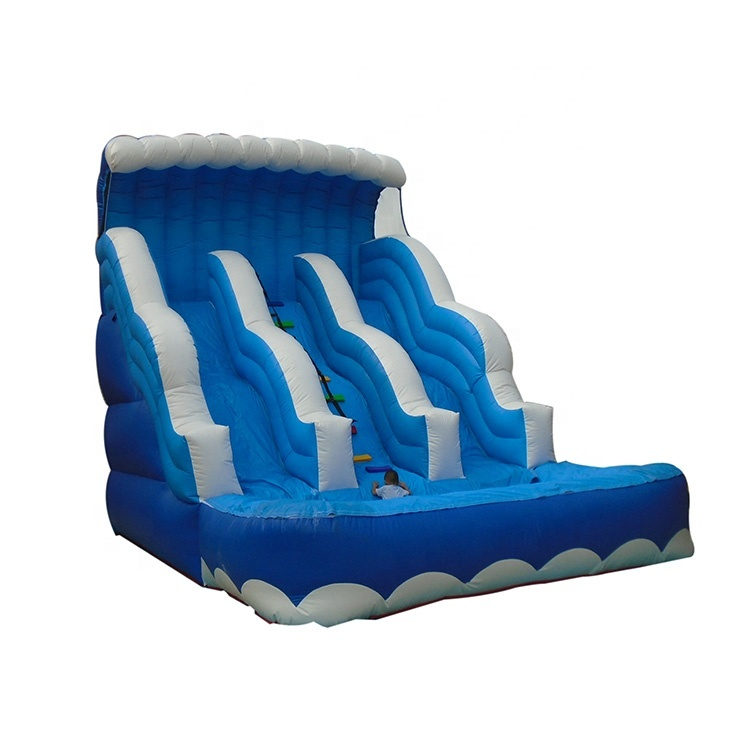 China Commercial Cheap High Quality Inflatable Bouncer Popular Water Slide With Pool