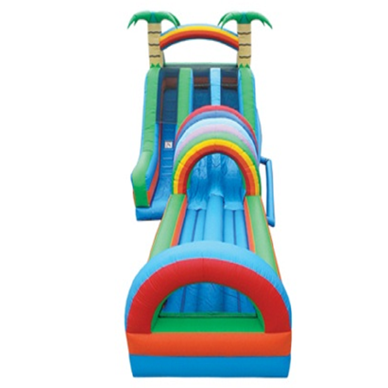 Factory price inflatable water park slides for kids