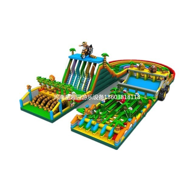 Inflatable Obstacle Course Adult Inflatable Obstacle Course