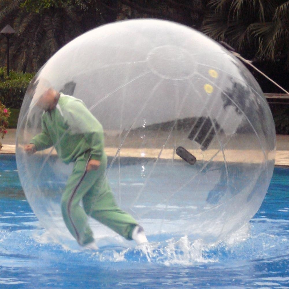 pvc 2m water walking inflatable ball transparent inflatable water walking ball water ball