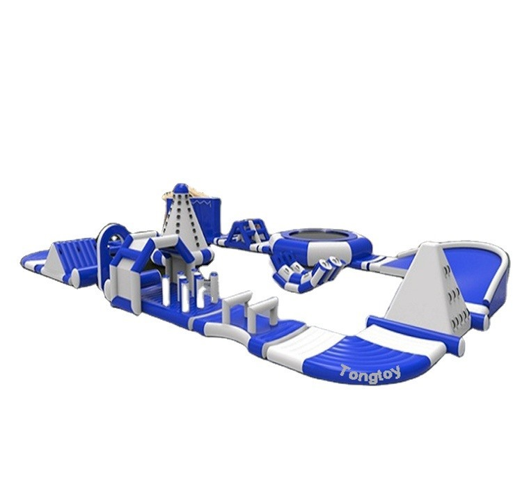 inflatable  floating water park  Inflatable Adventure Island inflatable water park sea water park equipment