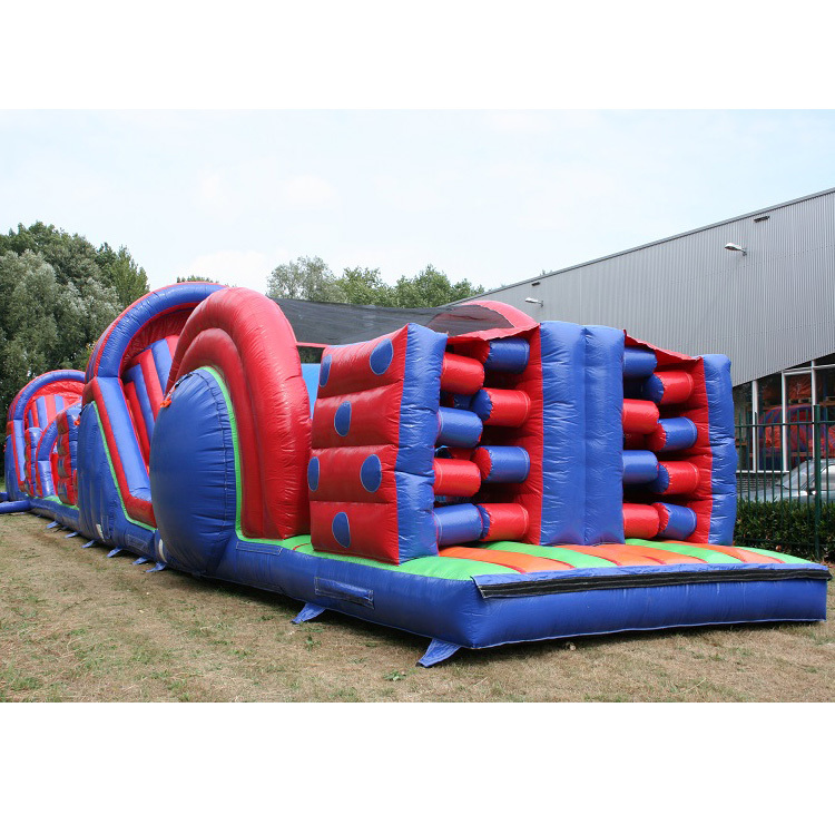 Giant inflatable  obstacle course outdoor kids obstacle course equipment amusement park kids obstacle course equipment