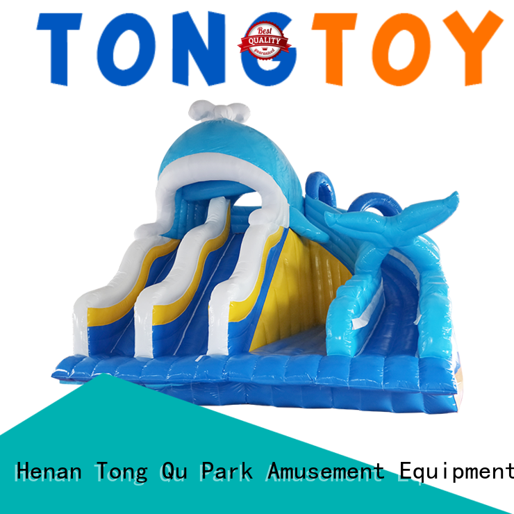 Tongtoy Best outdoor bouncer order now for water park
