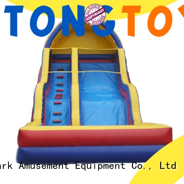 customized adult blow up water slide factory price for water park