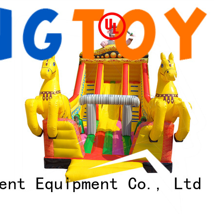 Tongtoy blow up slide reputable manufacturer for outdoor