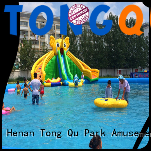 customized backyard water slides for adults company