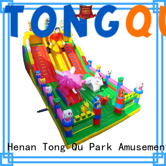 Tongtoy colorful inflatable bouncer wholesale for outdoor