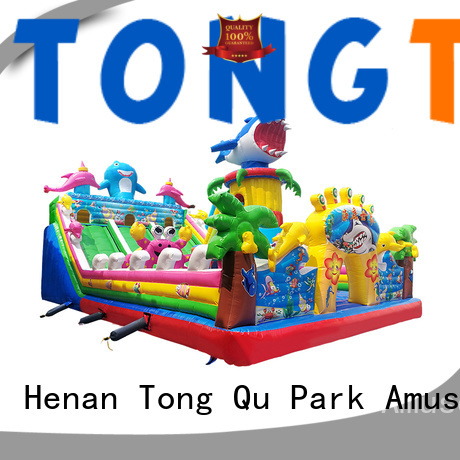 Tongtoy colorful water bounce house supplier for kids