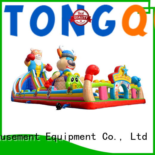 Tongtoy fire-resistant inflatable bouncer inquire now for adult