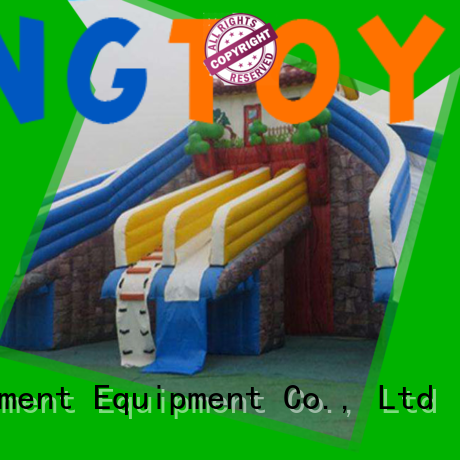 Tongtoy fire-resistant air water slide Supply