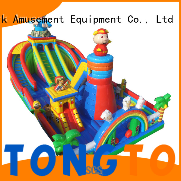 Tongtoy water-proof inflatable bounce house inquire now for kids