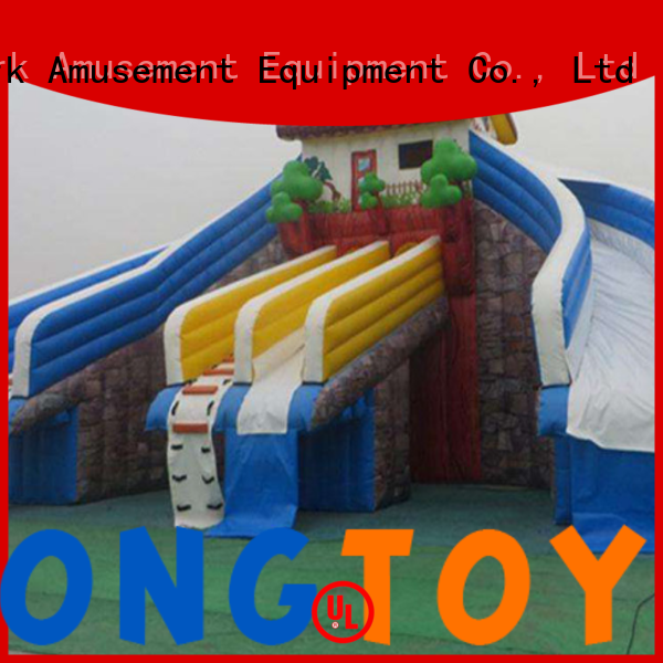 Custom big blow up slide company for water park