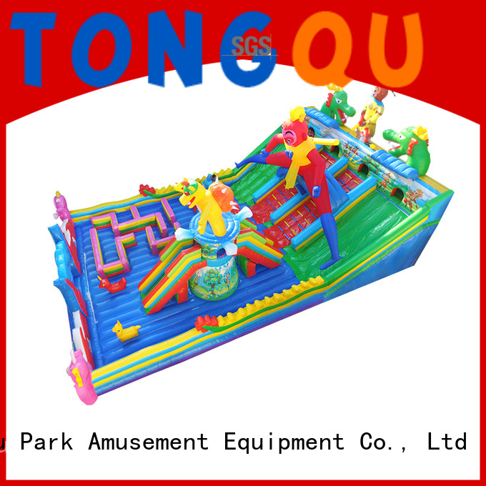 colorful outdoor inflatable bounce house supplier for adult