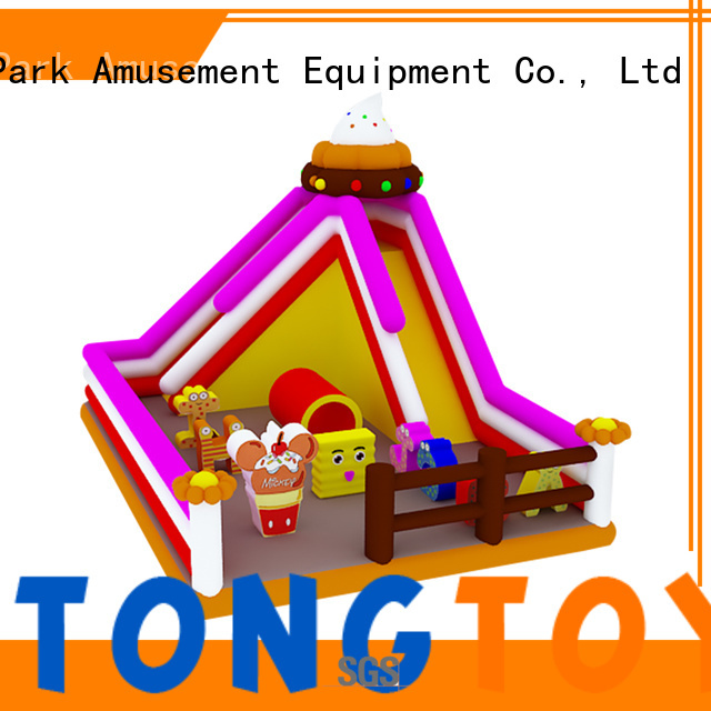 Tongtoy bouncy slide reputable manufacturer for outdoor