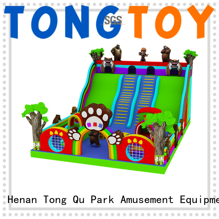 Tongtoy PVC blow up slide factory price for indoor