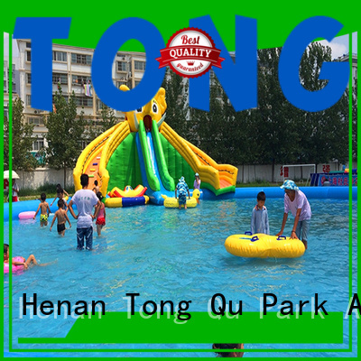 Tongtoy water-proof toddler inflatable water slide for business for swimming pool