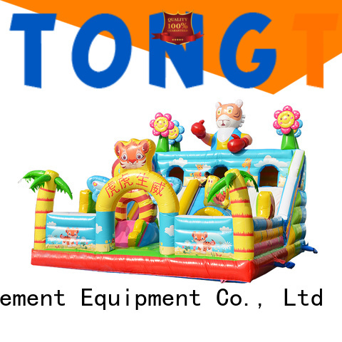 Tongtoy Heat resistant water bounce house inquire now for outdoor