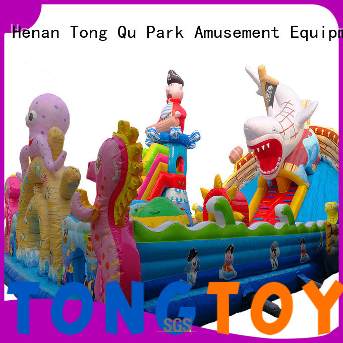 Tongtoy commercial grade bounce house wholesale for kids