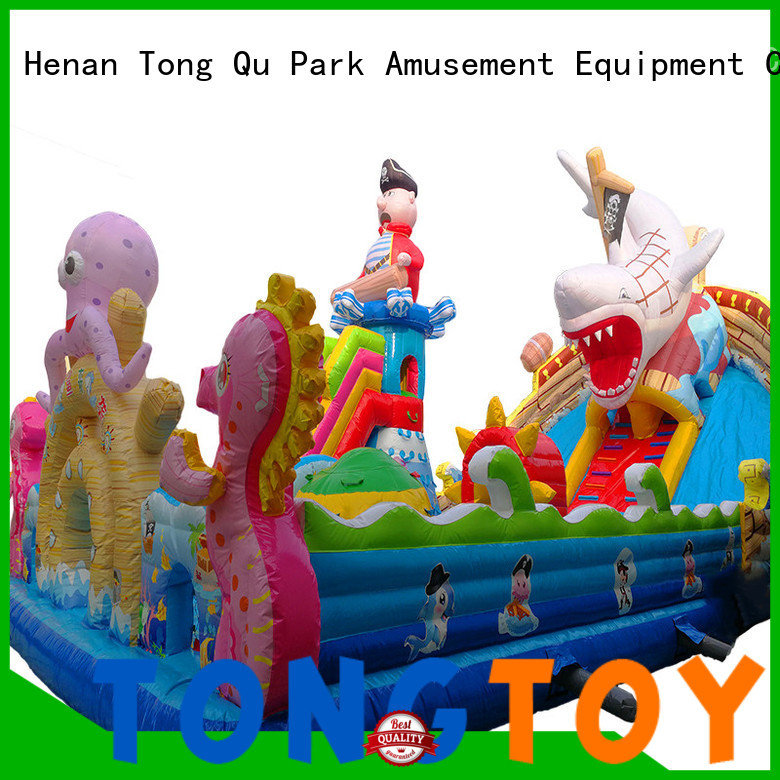 Tongtoy Durable water bounce house wholesale for kids