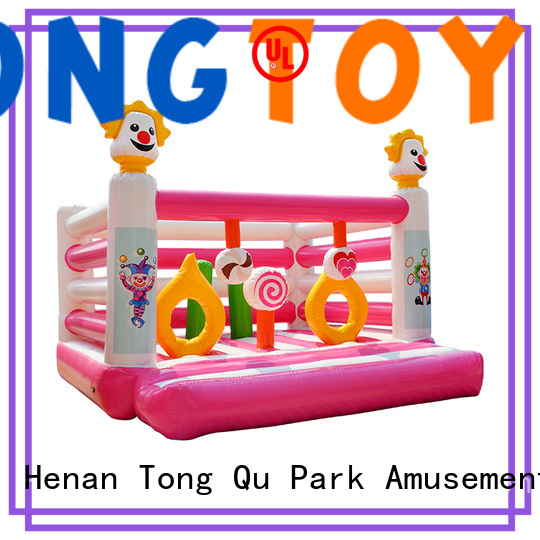Tongtoy fire-resistant water bounce house inquire now for kids