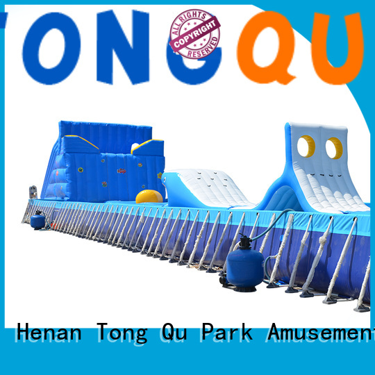 PVC inflatable obstacle course from China for amusement park