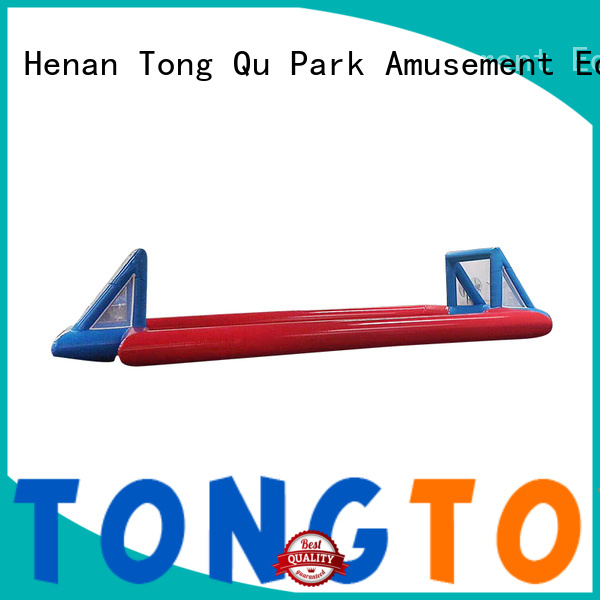Tongtoy premium quality inflatable soccer field customized for amusement park