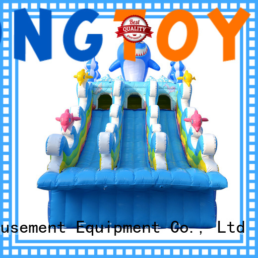 fire-resistant inflatable water slide reputable manufacturer
