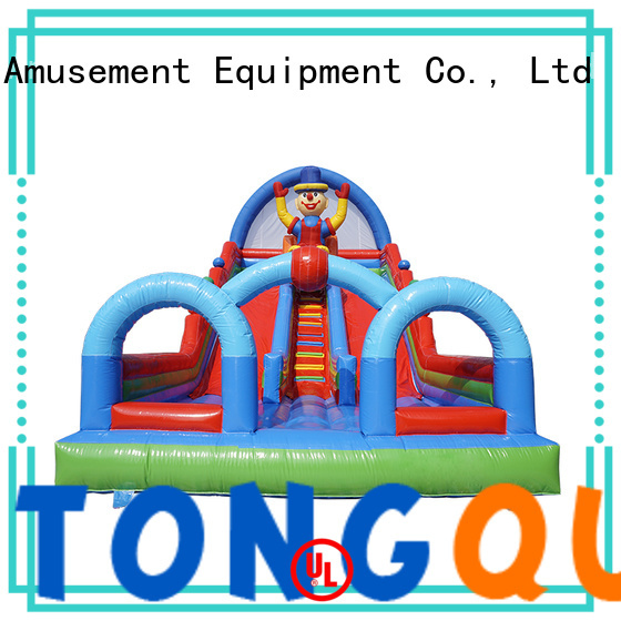 Tongtoy PVC inflatable slide reputable manufacturer for outdoor