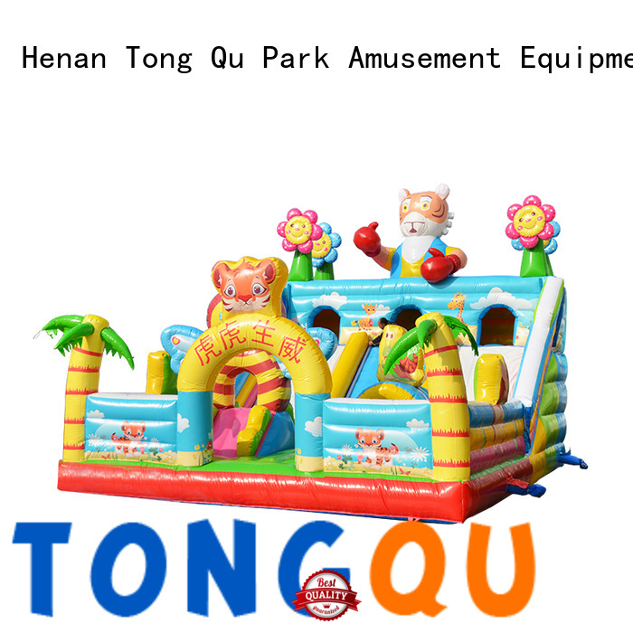 Tongtoy Durable inflatable bounce house supplier for outdoor