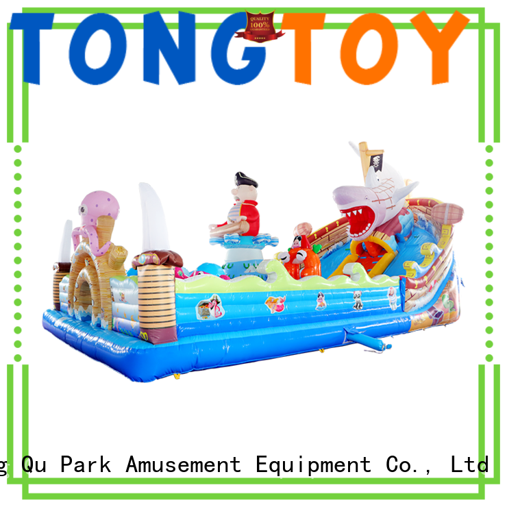Tongtoy colorful commercial inflatable bounce house supplier for adult