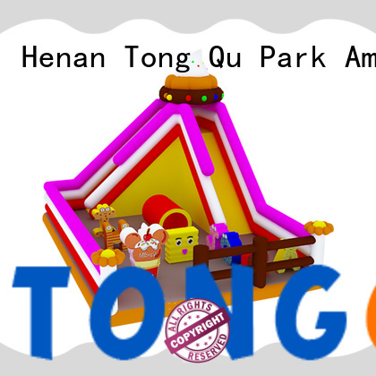 Tongtoy commercial blow up slide reputable manufacturer for outdoor
