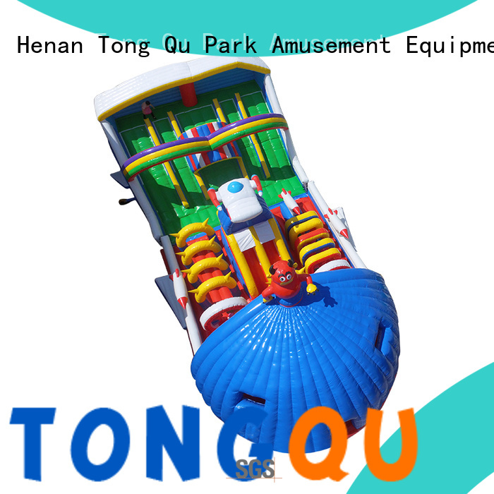 Tongtoy fire-resistant inflatable jump house supplier for outdoor