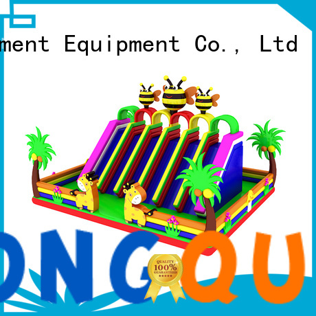 Tongtoy colorful blow up slide from China for outdoor