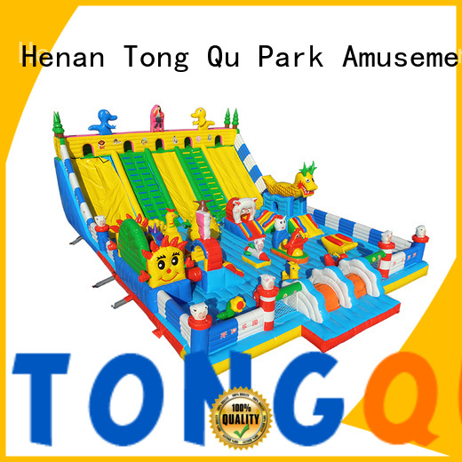 Tongtoy Heat resistant water bounce house supplier for kids
